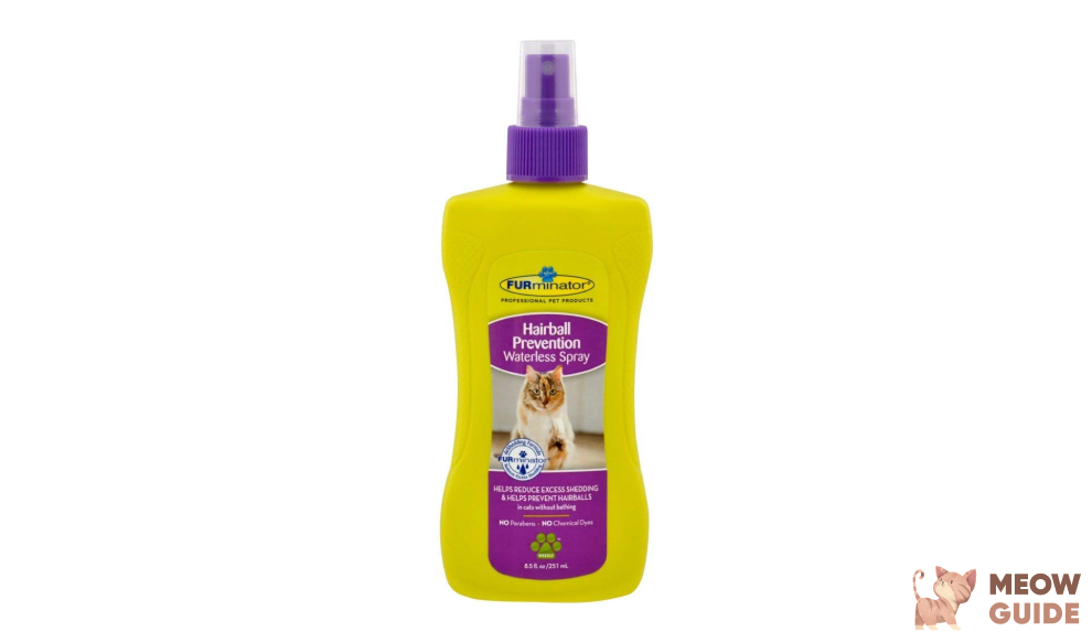 Furminator hairball prevention spray