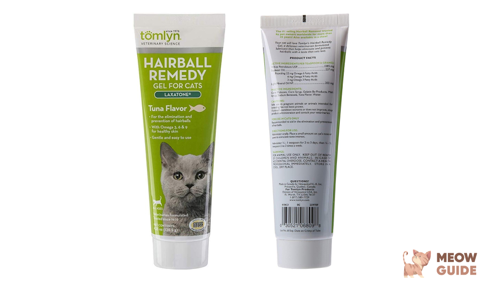 Tomlyn Hairball Remedy Gel for Cats